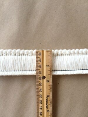 1.5 Cut Brush Fringe ruler