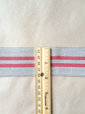 Modern Grain Sack-Red ruler