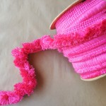 1.5in Brush Fringe-Hot Pink
