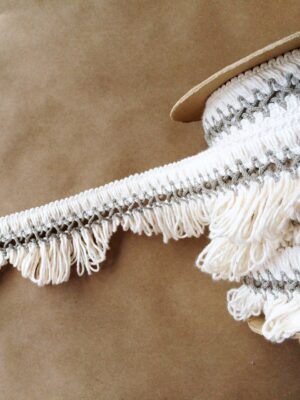 Scalloped Lace Fringe