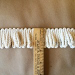 Anchor 2in Loop Fringe, Natural Cotton