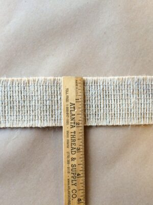 Jute 2in Double Edge Cut Tape