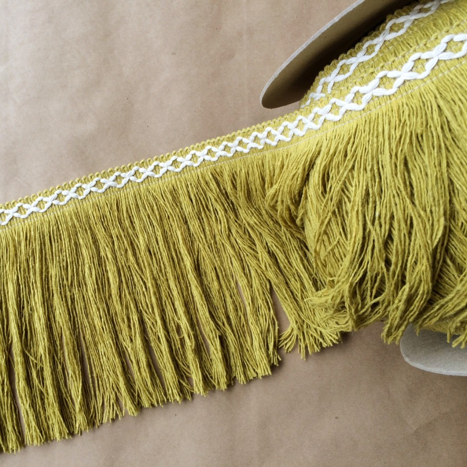 8in Diamond Fringe-Citron