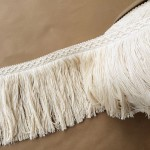 8in Diamond Fringe-Natural Cotton