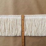 8in Diamond Fringe-Natural Cotton ruler