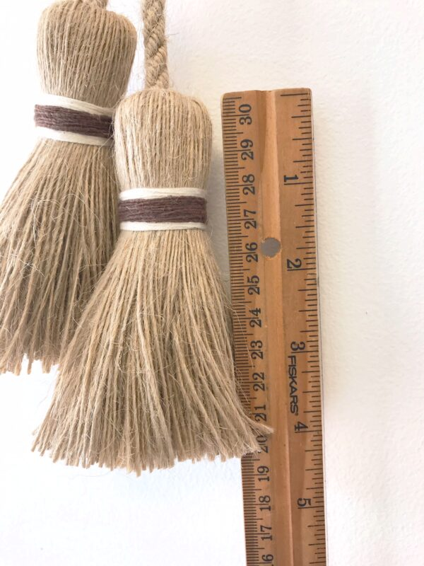 Jute Chair Ties Ruler Photo